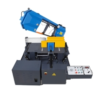 Dual Miter Semi-Automatic Bandsaw