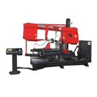 Heavy Duty Double Column Miter Cutting Bandsaw