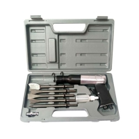 Low Vibration Air Hammer Kit w/ Chisels
