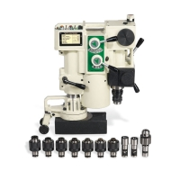Auto-Drilling Portable Magnetic Tapping Machine