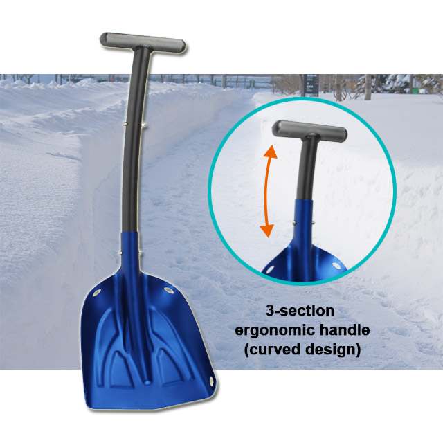 Ergonomic Snow Pusher