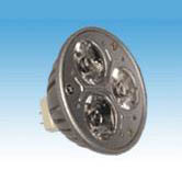 MR16, 3X1W power LED light bulb