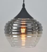 Chrome Metallic Ombre Glass fitting