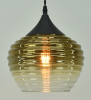 Gold Metallic Ombre Glass fitting