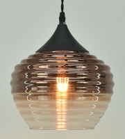 Copper Metallic Ombre Glass fitting
