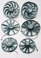 RADIATOR & AIR-CONDITION COOLING FAN ASSY