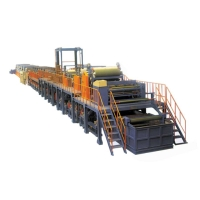 Dry / Wet PU and PVC Synthetic Leather Plant Equipment