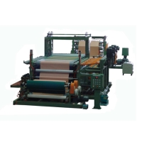 PVC 膠布貼合及壓花設備