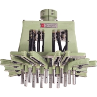 Rectangle-Multiple Spindle Drilling & Tapping Heads with Universal Joint Driven