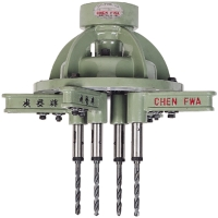 Multiple Spindle Drilling & Tapping Heads with Gears Driven