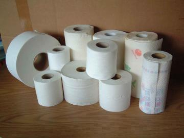 Toilet roll paper making machine