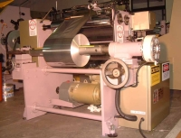 Foodservices foil roll rewinder machine