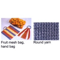 Pruit Mesh Bag / Hand Bag / Round Yarn Knitting Machine