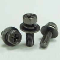 六角十字机械牙螺丝附弹簧华司和平华司