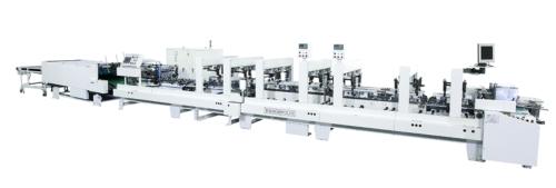 High Speed 4/6 Corner Folding and Gluing Machine