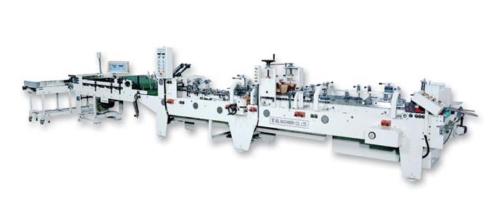 High Speed Folding and Gluing Machine