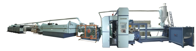 High Speed & High Capacity Flat Yarn Making Machine