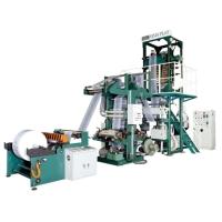 連線二色印刷機及吹袋機