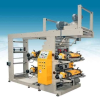 Cens.com In-line 4 Color Flexo Printing Machine LEEWIN FLEXO MACHINERY COMPANY.