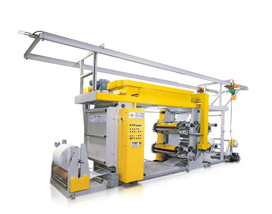 Heavy Duty Flexo Printing Machine
