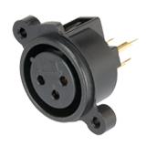 XLR 型公插座與母插座