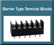 Barrier Type Terminal Blocks