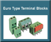 Euro Type Terminal Blocks