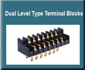 Dual Level PCB Type Terminal Blocks
