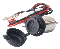 Motorcycle Cigarette Lighters DC 12V with Water-proof Cap and Wire