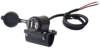 2 Port USB Power supply for Vehicles & Motorcycle