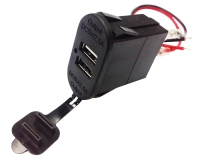 Carlin 2 USB Power Supply for Vehicles & Motorcycle