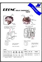 RE6NC  relay emergency valve