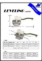 LEVELING valves