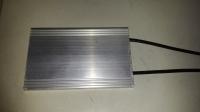 small flat aluminum case resistor