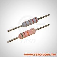 耐燃性金屬氧化皮膜電阻器