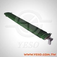 ZQR Flat Ceramic Form, Set-Type, Wire-Wound Resistor