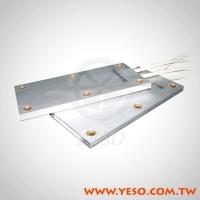 flat type aluminum case resistor