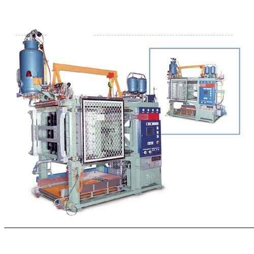 Full-automatic EPS / EPE Shape Molding Machine