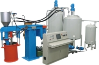 Semi-Automatic Batch Foaming Machine