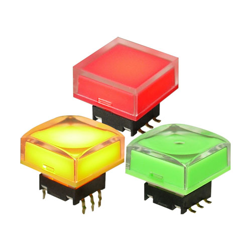 RGB lighting Tactile switches