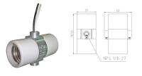 E26 porcelain socket