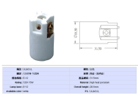 E12 porcelain lamp holder