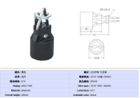 E17  lamp holder for North America