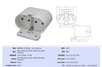 Compact Fluorescent Lampholder Socket