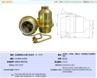 E26 pull chain Lampholder