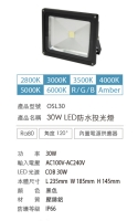 Cens.com 30W LED FLOOD LIGHT PLUSTHER ENTERPRISE CO., LTD.