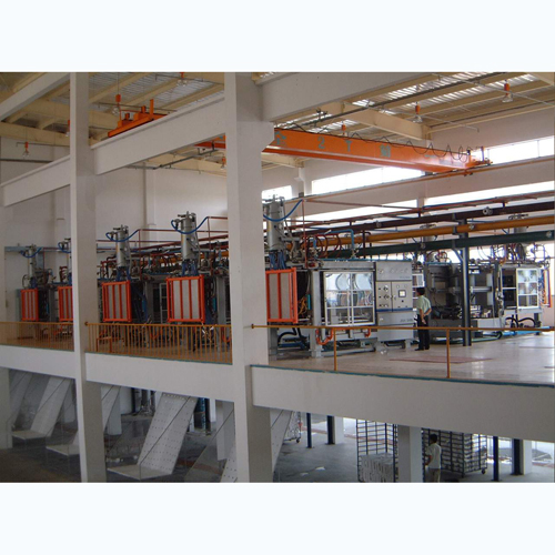 Automatic Vacuum Molding Machine