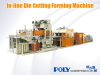 In-line Die Cutting Forming Machine