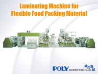 Laminating Machine for Flexible Food Packing Material