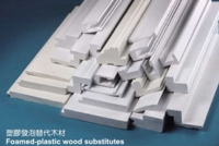 Foamed-plastic Wood Substitutes